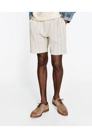 Heren Bermuda's - Zara TRICOT BERMUDA