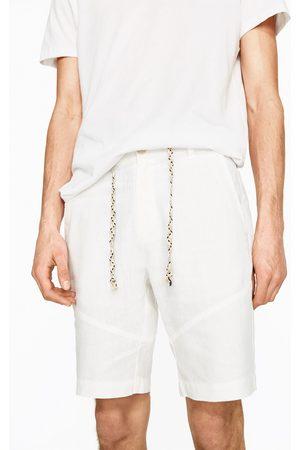 Heren Bermuda's - Zara LINNEN BERMUDA - In meer kleuren beschikbaar