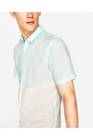 Heren Overhemden - Zara GEVERFD OVERHEMD - In meer kleuren beschikbaar