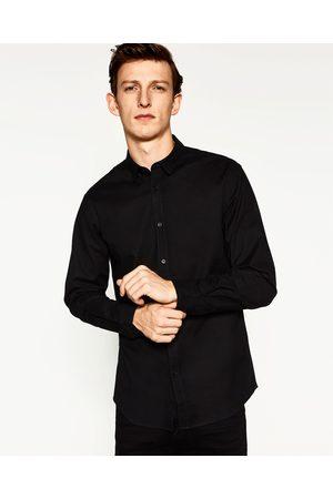 Heren Overhemden - Zara OXFORD STRETCHOVERHEMD - In meer kleuren beschikbaar