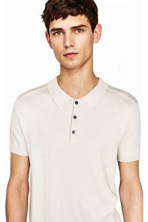 Heren Poloshirts - Zara VISCOSE POLO - In meer kleuren beschikbaar