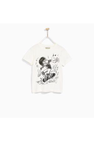 Jongens Shirts - Zara T-SHIRT MET SKATER
