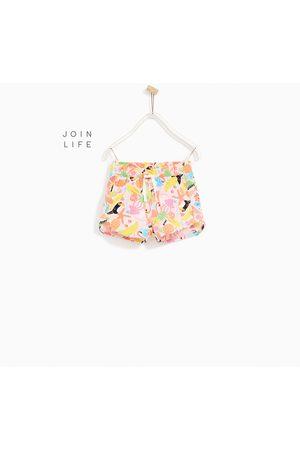 Meisjes Shorts - Zara SHORT MET MELOEN- EN IJSJESPRINT - In meer kleuren beschikbaar