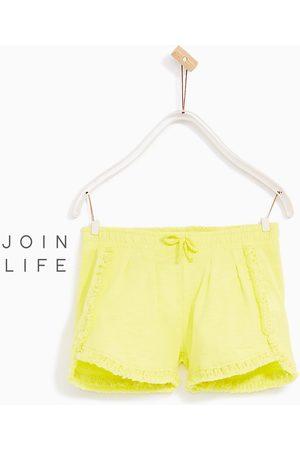 Meisjes Shorts - Zara SHORT MET FRANJES - In meer kleuren beschikbaar