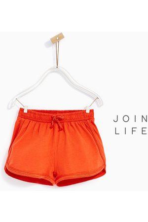 Meisjes Shorts - Zara SHORT MET VLECHTWERK - In meer kleuren beschikbaar