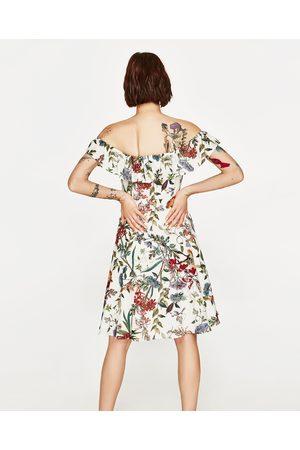 Dames Geprinte jurken - Zara JURK MET PRINT