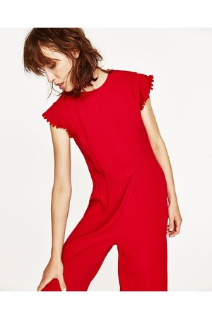 Dames Jumpsuits - Zara CROPPED JUMPSUIT