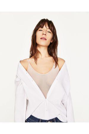 Dames Body's - Zara TULE BODY MET SCHOUDERBANDJES