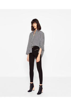Dames Leggings & Treggings - Zara LEGGING MET DUBBELE RITS - In meer kleuren beschikbaar