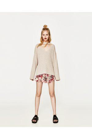 Dames Truien - Zara TRUI MET CHOKER - In meer kleuren beschikbaar