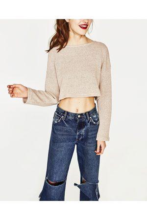 Dames Sweaters - Zara GESNEDEN TRICOT TRUI