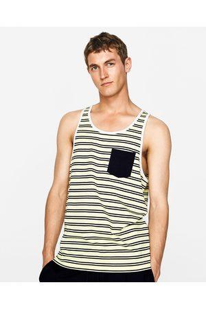 Heren Shirts - Zara MOUWLOOS T-SHIRT - In meer kleuren beschikbaar