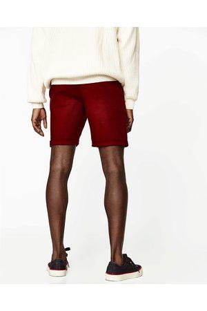 Heren Bermuda's - Zara KATOENEN BERMUDA - In meer kleuren beschikbaar
