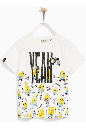 Jongens Shirts - Zara T-SHIRT MET MINIONS 'YEAH