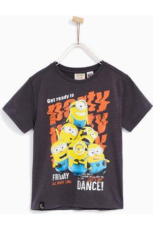 Jongens Shirts - Zara T-SHIRT MET MINIONS 'PARTY