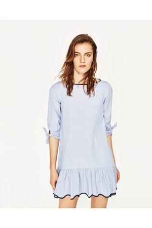 Dames Geprinte jurken - Zara GESTREEPTE JURK