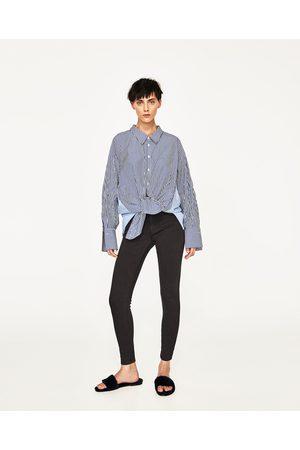 Dames Jeans - Zara JEANS MET HALFHOGE TAILLE
