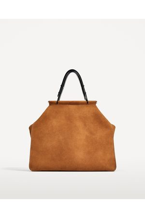 Dames Shoppers - Zara SUÈDE SHOPPER