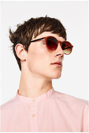 Heren Overhemden - Zara OVERHEMD MET MAOKRAAG - In meer kleuren beschikbaar