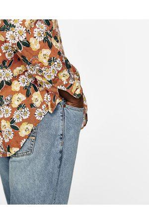 Bloemetjes Overhemd.Zara Overhemd Bloemen Heren Kleding Kleding Nl Vergelijk Koop
