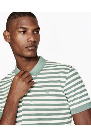 Heren Poloshirts - Zara PIQUÉ POLO MET STREPEN - In meer kleuren beschikbaar
