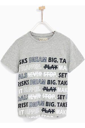 Jongens Shirts - Zara T-SHIRT MET SPORTSLOGANS