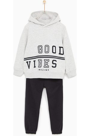 Jongens Homewear - Zara JOGGINGPAK 'GOOD VIBES