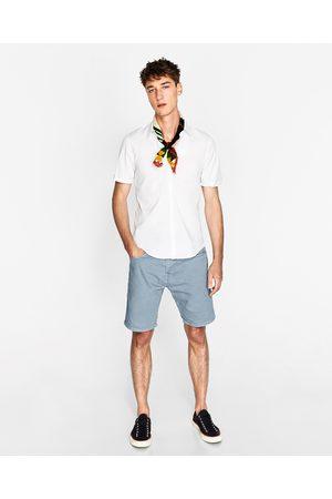 Heren Bermuda's - Zara BULL DENIM BERMUDA - In meer kleuren beschikbaar