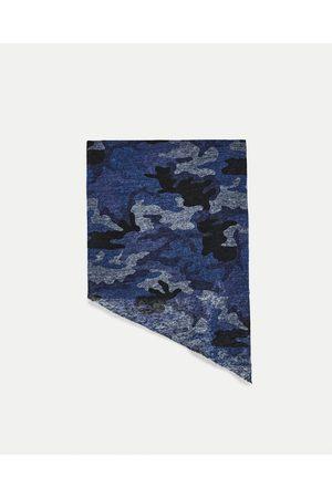 Heren Sjaals - Zara SJAAL MET CAMOUFLAGEPRINT - In meer kleuren beschikbaar