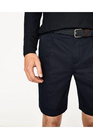 Heren Bermuda's - Zara BERMUDA MET CEINTUUR - In meer kleuren beschikbaar