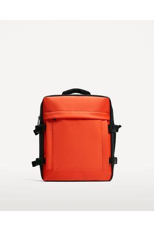 Heren Rugzakken - Zara BLAUWE RUGZAK VAN ELASTISCH MATERIAAL - In meer kleuren beschikbaar