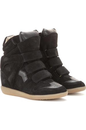 Isabel Marant Dames Sneakers - Bekett leather and suede sneakers