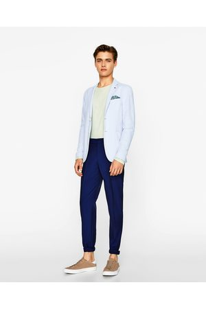 Heren Blazers & Colberts - Zara PIQUÉ BLAZER - In meer kleuren beschikbaar