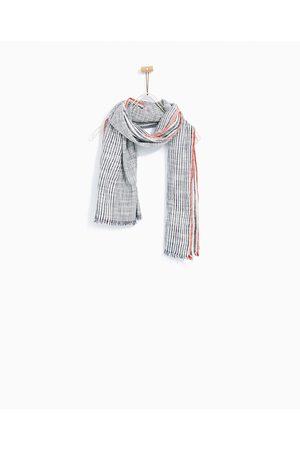 Zara SJAALTJE MET ASYMMETRISCHE STREPEN - In meer kleuren beschikbaar
