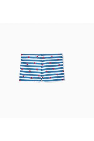 Zara GESTREEPTE BOXERSHORT MET ZEESTERREN - In meer kleuren beschikbaar