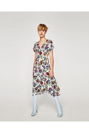3ccc72bd39487c Midi dress with dames Jurken