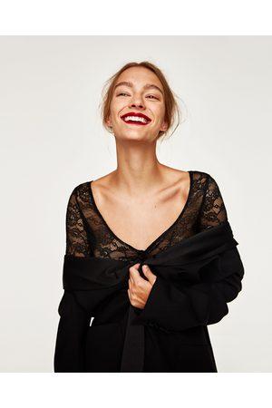 Zara BODY MET KANT - In meer kleuren beschikbaar