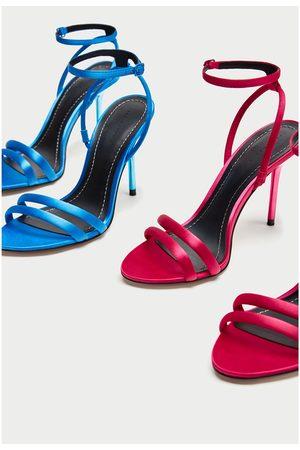 Zara SATIJNEN SANDAALTJES - In meer kleuren beschikbaar