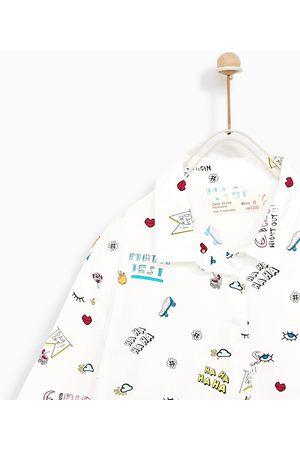 Zara OVERHEMD MET PRINT - In meer kleuren beschikbaar