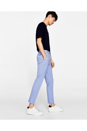 Zara GEWEVEN KOSTUUMBROEK - In meer kleuren beschikbaar