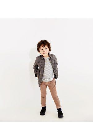 Broeken - Zara GEKLEURDE DENIM BROEK - In meer kleuren beschikbaar