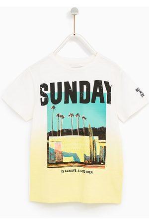 Zara T-SHIRT 'SUNDAY