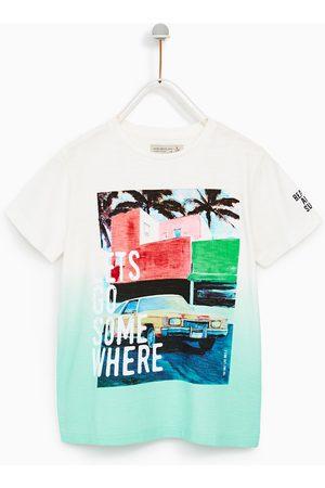 Zara T-SHIRT 'LET´S GO SOMEWHERE