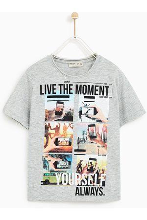 Zara T-SHIRT MET FOTO'S - In meer kleuren beschikbaar