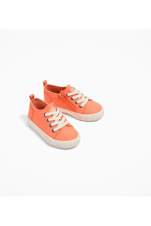 Sneakers - Zara REFLECTERENDE FLUOR SNEAKERS