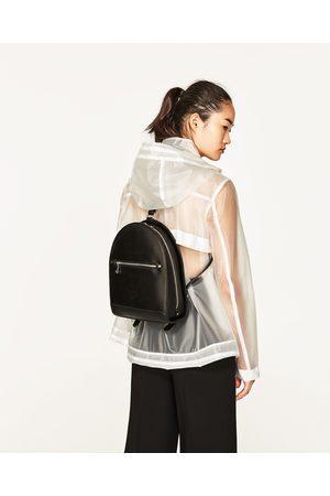 Dames Rugzakken - Zara STEVIGE RUGZAK MET RITSEN - In meer kleuren beschikbaar