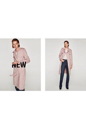 Zara REGENJAS MET SUÈDE-EFFECT - In meer kleuren beschikbaar