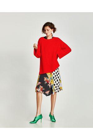 Zara OVERSIZED SWEATER WITH VISIBLE SEAMS - In meer kleuren beschikbaar