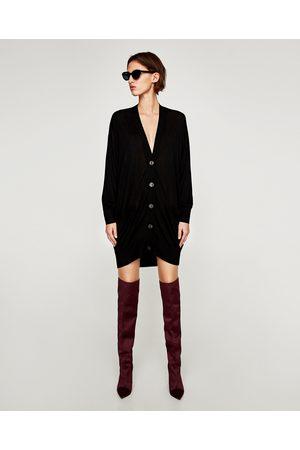 Zara OVERSIZED TRICOT VEST - In meer kleuren beschikbaar