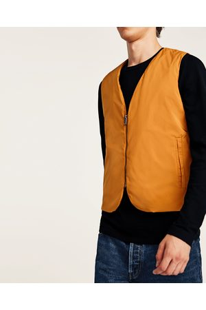 Zara SOLID QUILTED GILET